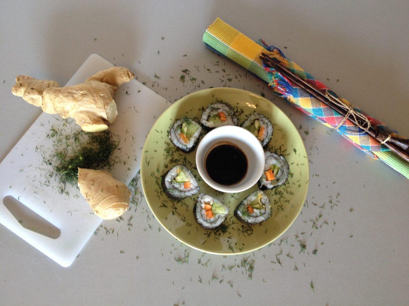 Απλό Καλοκαιρινό Κυριακάτικο Σούσι