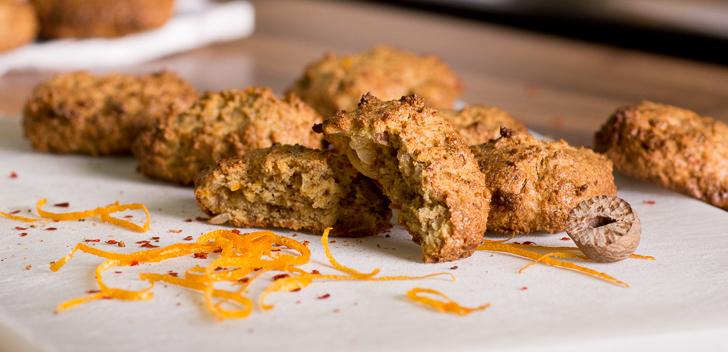 Πικάντικα μπισκότα πορτοκαλιού