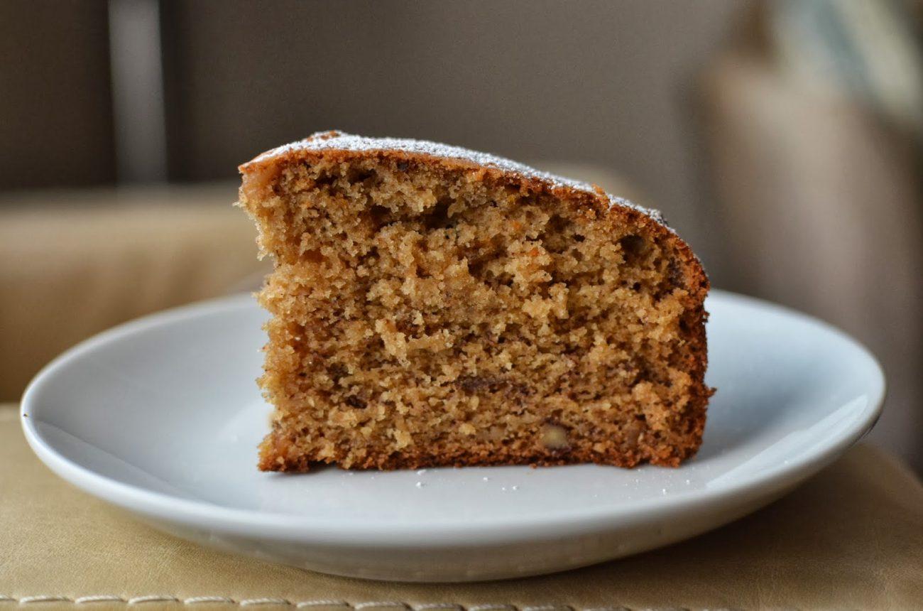 Κέικ ή muffins κανέλας με ταχίνι και μέλι