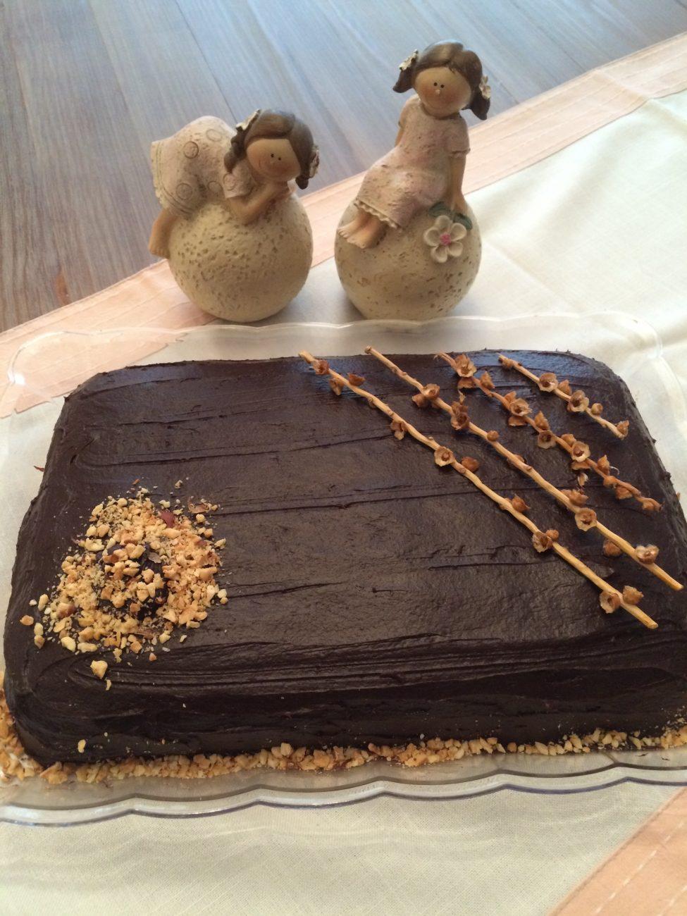 Τούρτα σοκολάτας με ταχίνι