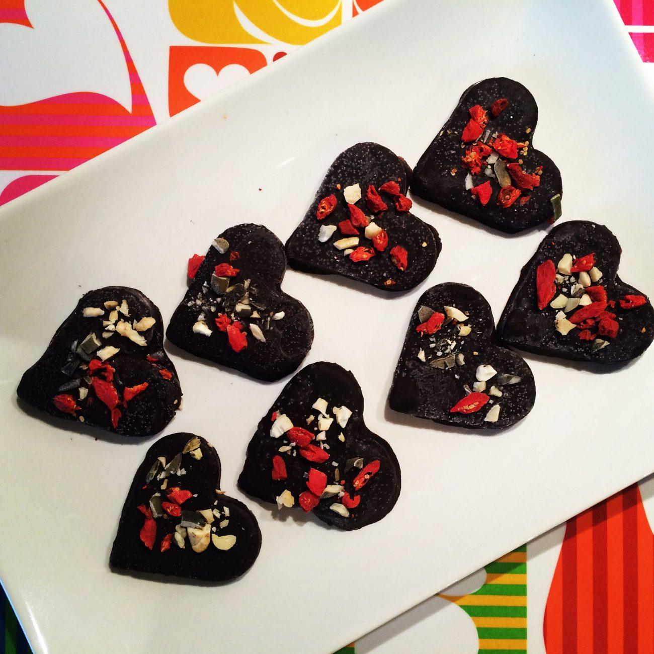 Σοκολατάκια με καραμέλα