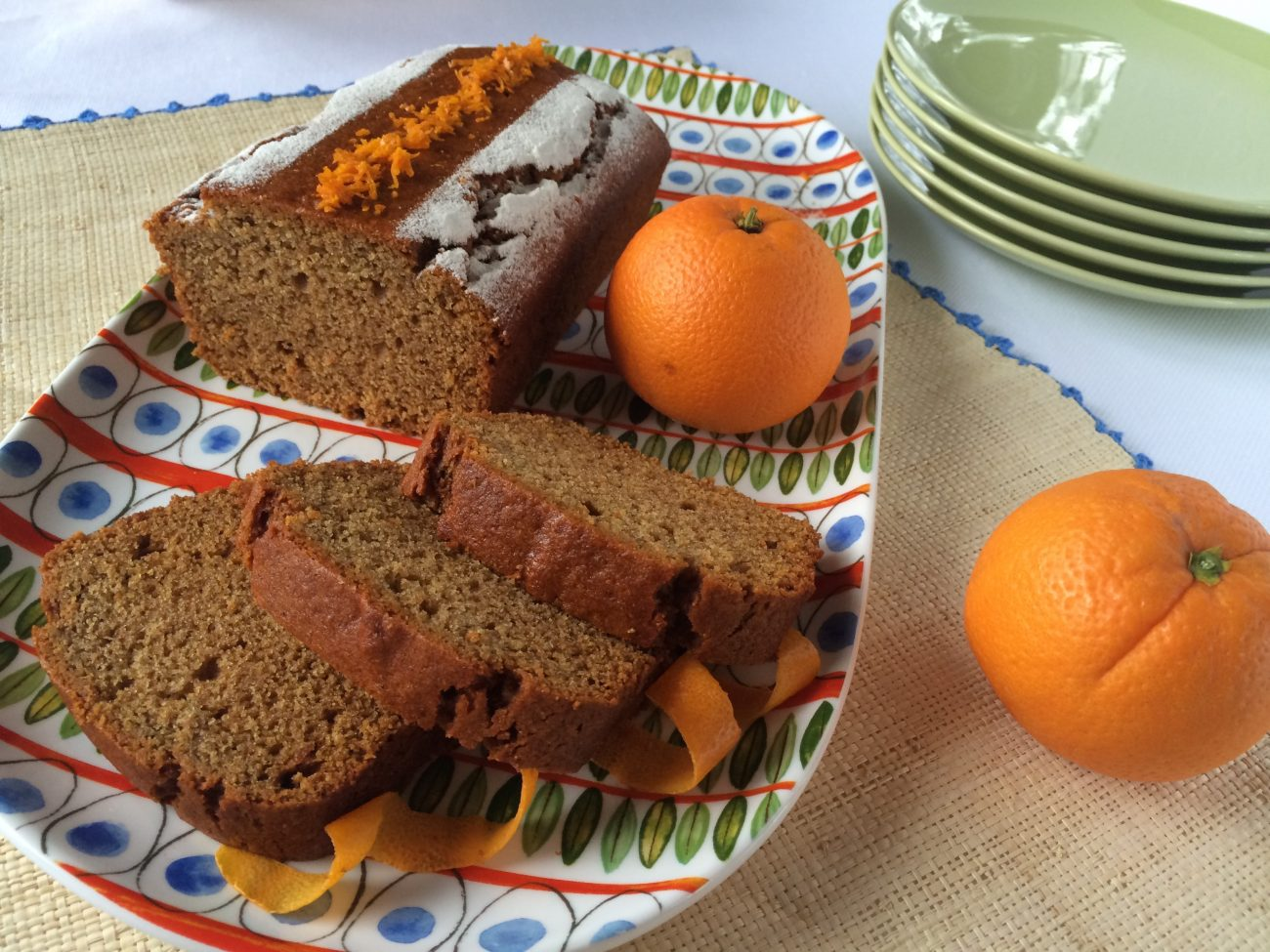 Κέικ ή muffins πορτοκαλιού