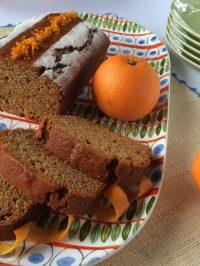 Κέικ ή muffins πορτοκαλιού με μέλι και ελαιόλαδο