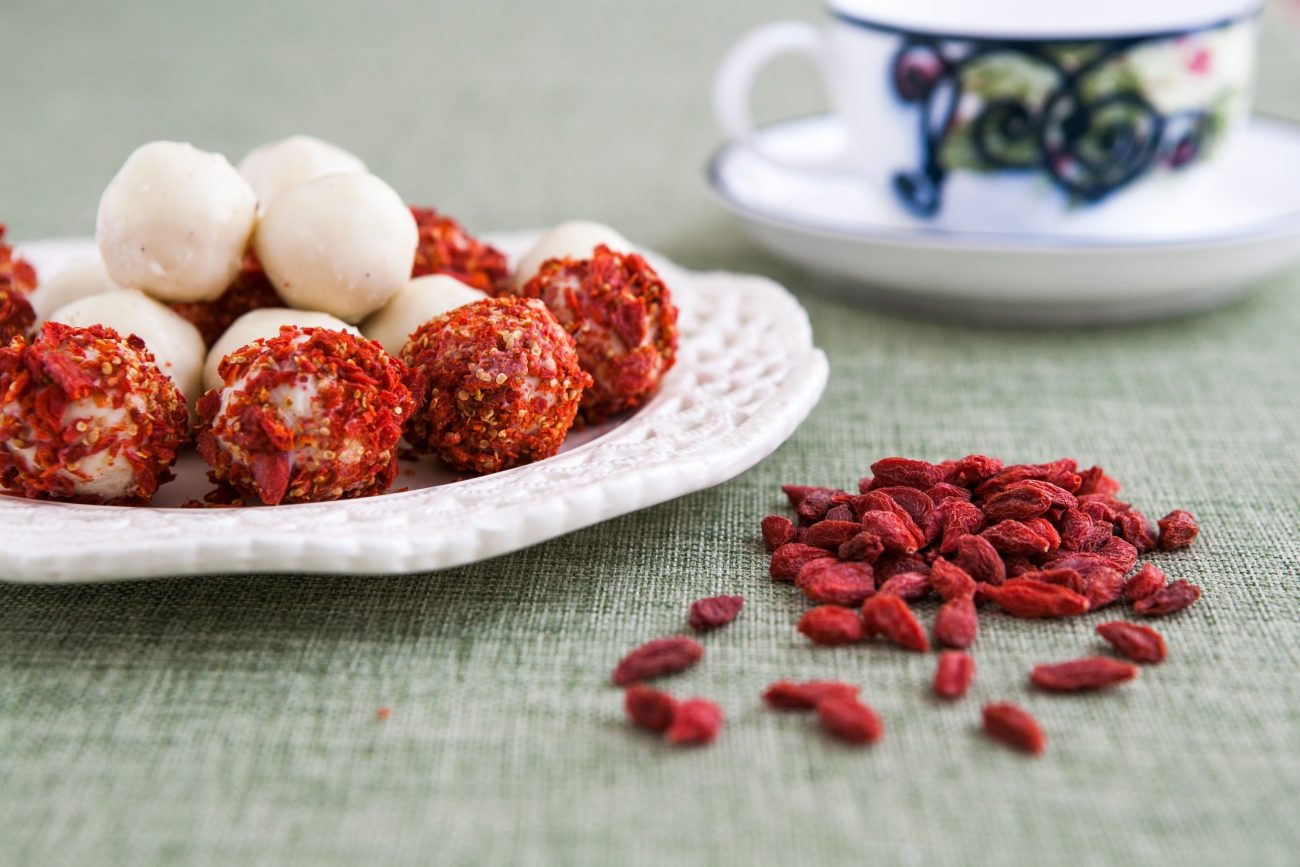 Rafaello με goji berries