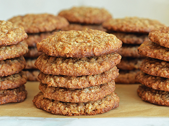 Cookies με καρύδια και βερίκοκο