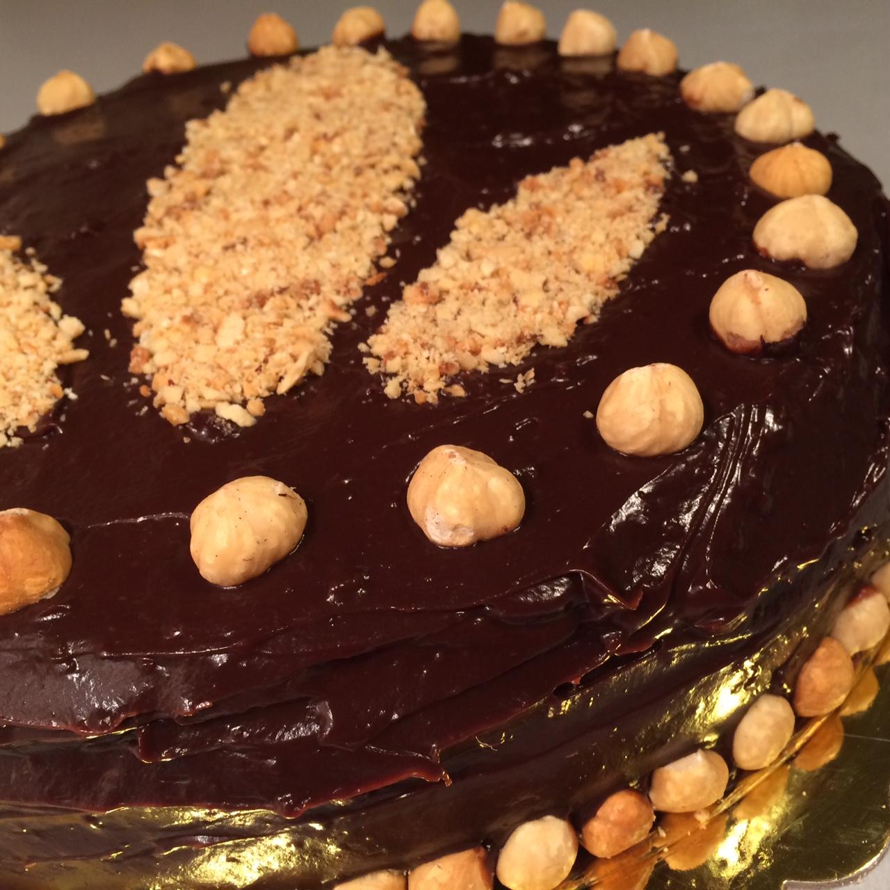 Τούρτα βανίλια-σοκολάτα