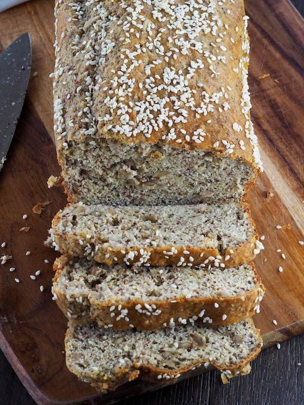 Ψωμί χωρίς αλεύρι (keto bread)
