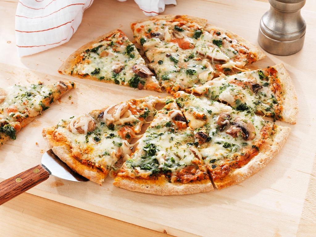 Πίτσα vegan με… μυστικό υλικό…!