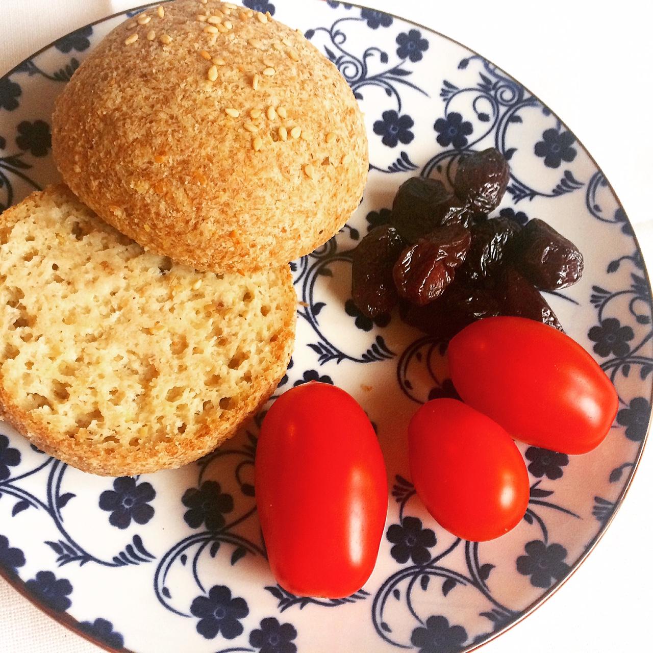 Ψωμάκια για σάντουιτς χωρίς αλεύρι (keto bread)