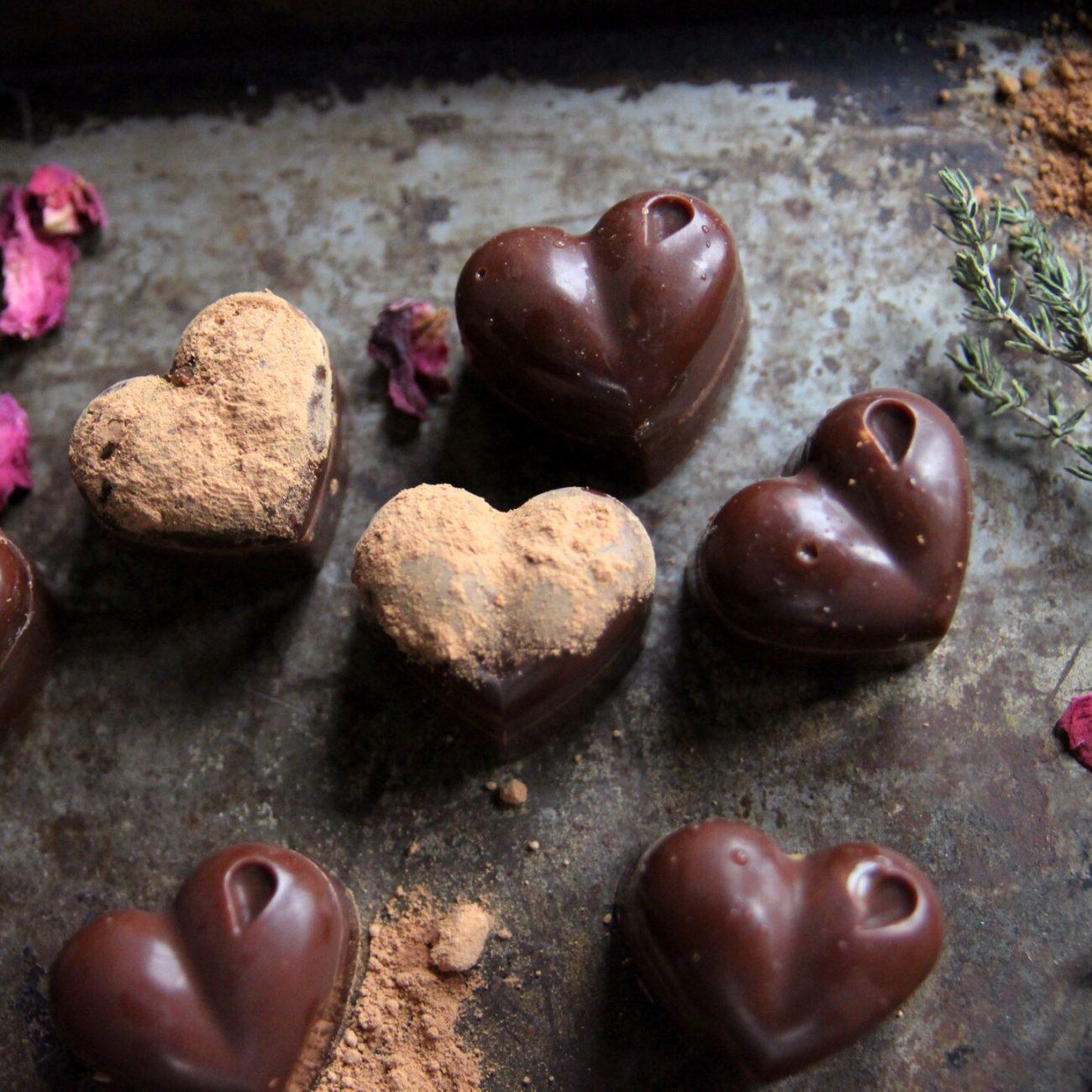 Σοκολατάκια «πολυτελείας» (fat bombs)