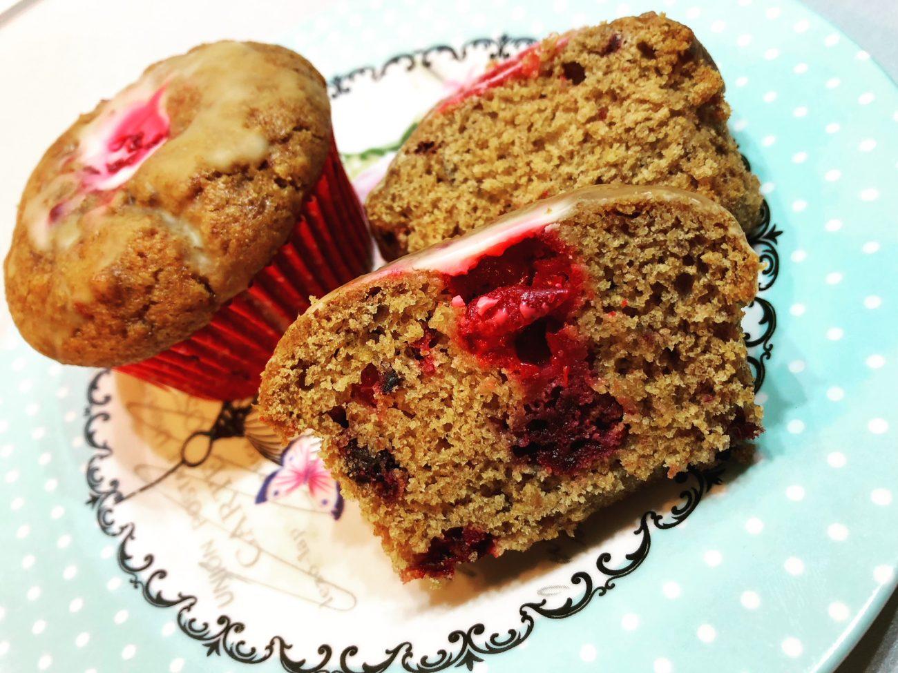 Κέικ ή muffins με φρούτα του δάσους