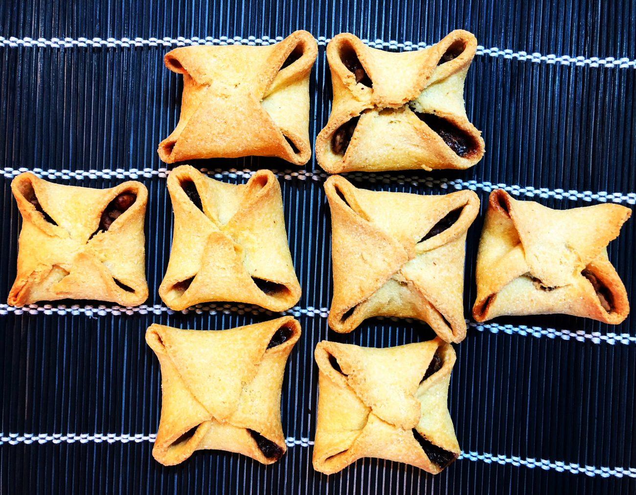 Ζυμαράκια με καρύδια και σοκολάτα χωρίς αλεύρι/γλουτένη