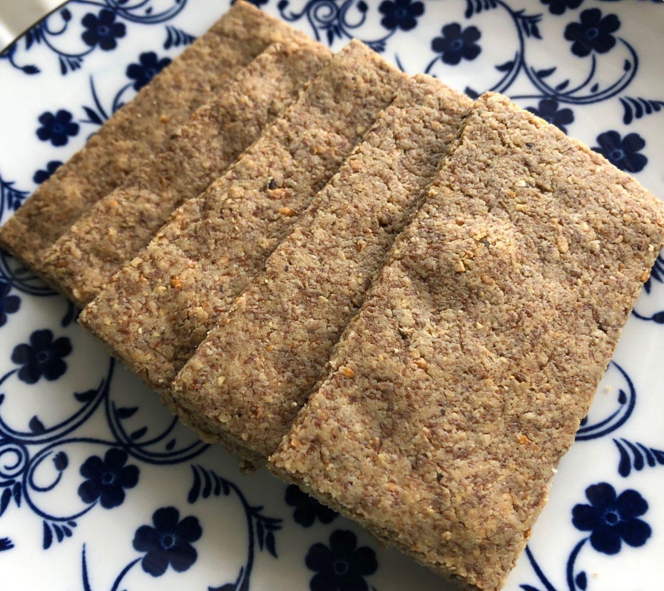 Craquelins (keto crackers) χωρίς γλουτένη