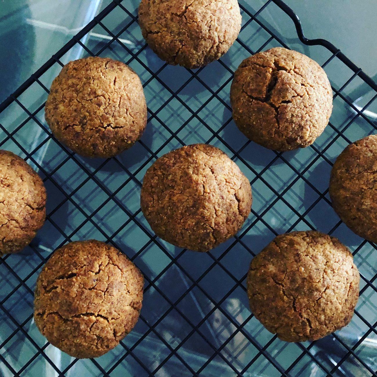 Μπισκότα καρύδας χωρίς γλουτένη (low-carb & keto)