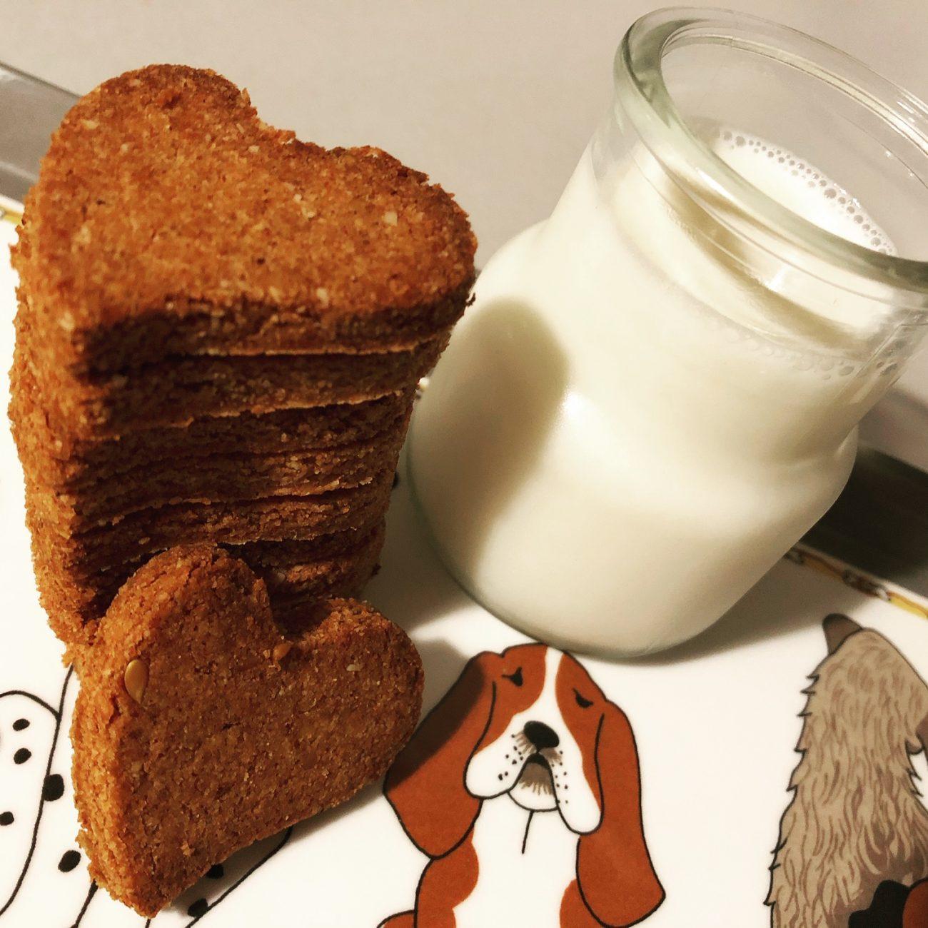 Μπισκότα κανέλας χωρίς αλεύρι (low-carb & keto)