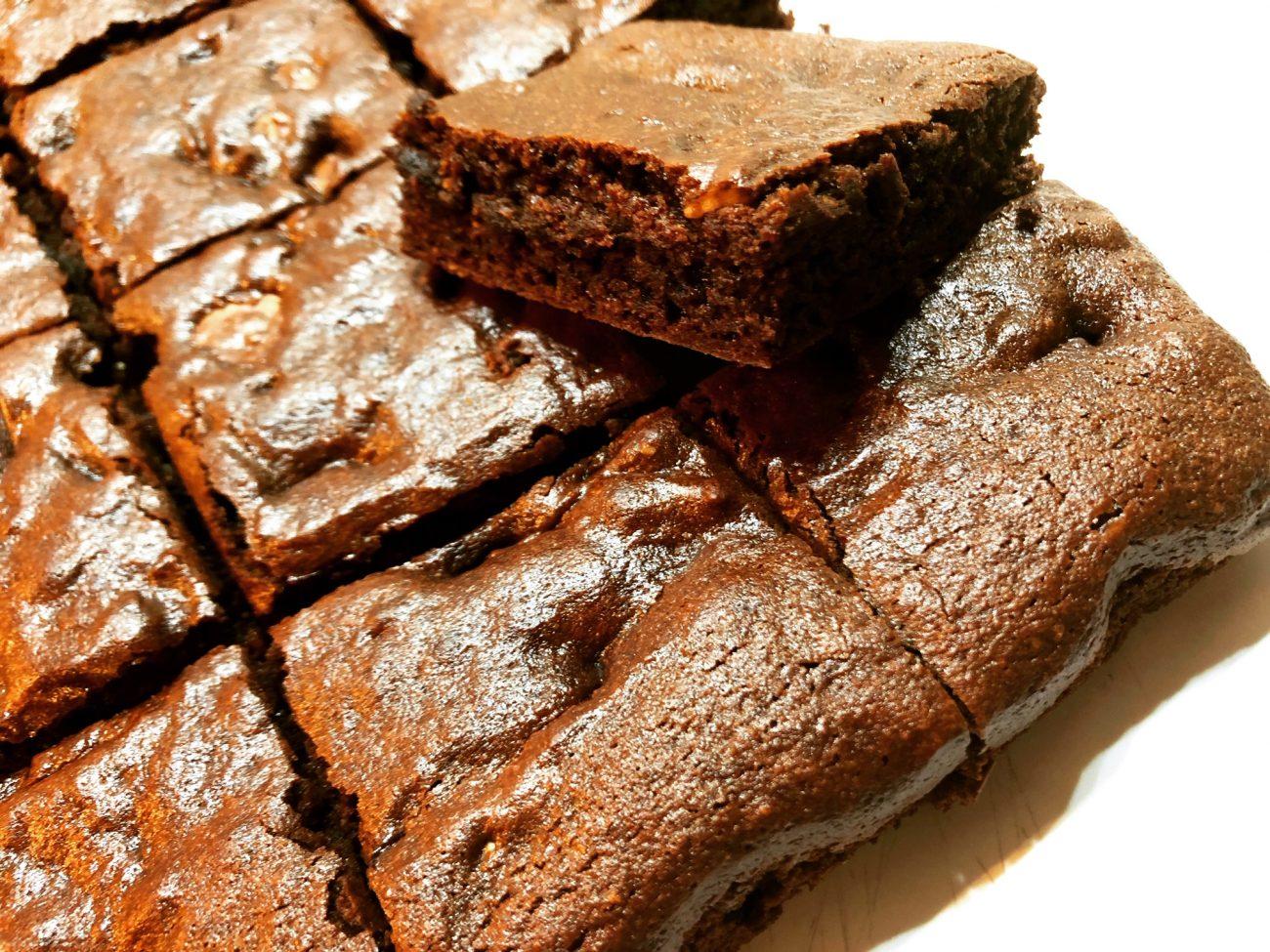 Brownie φουντουκιού (gluten free, low-carb & keto)